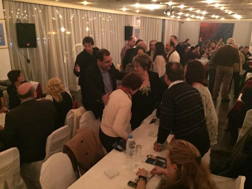 Εκλογές 2015: Με τους εκπαιδευτικούς του Πειραιά ο Κώστας Κατσαφάδος