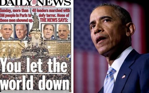 Αμερικανικά ΜΜΕ: Γύρισε πράγματι την πλάτη ο Ομπάμα στη Γαλλία;