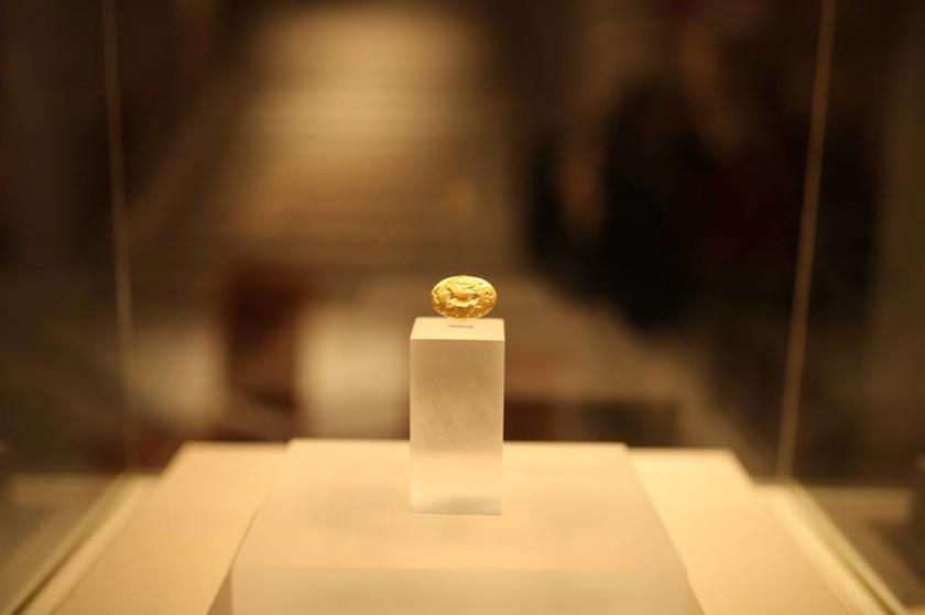 Παρουσιάστηκε το «δαχτυλίδι του Θησέα» στο Αρχαιολογικό Μουσείο