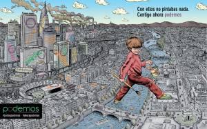 Ισπανία: Κινητοποίηση στις 31 Ιανουαρίου προγραμματίζουν οι Podemos
