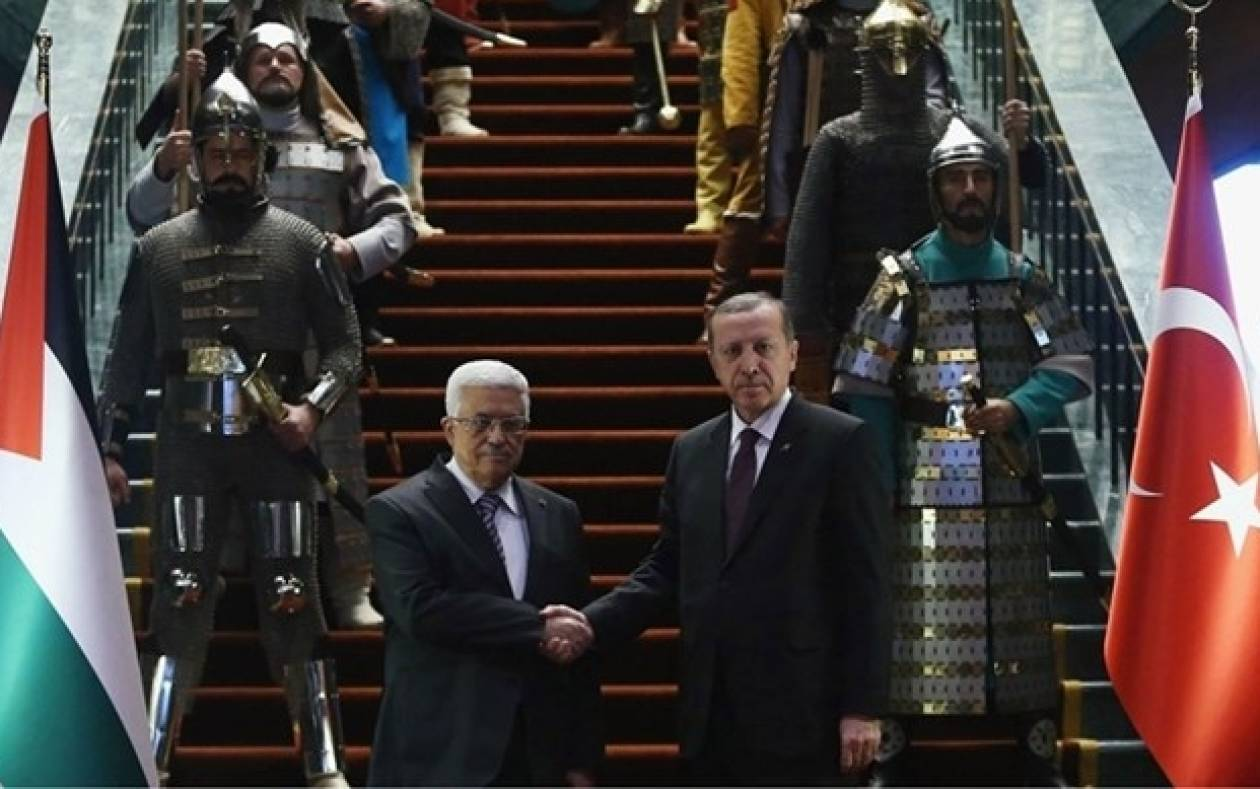 Τουρκία: «Αυτοκρατορική» φρουρά για την υποδοχή Αμπάς (photos)