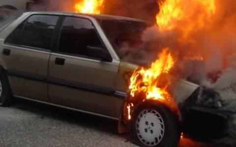 Φωτιά σε κινούμενο όχημα στην Καβάλα – Σώος ο οδηγός