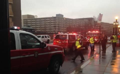 Εκκενώθηκε σταθμός του μετρό στην Ουάσινγκτον εξαιτίας πυκνών καπνών