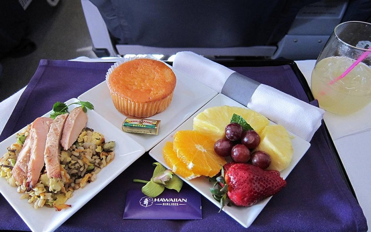 Γιατί είναι άνοστο το φαγητό στις πτήσεις;