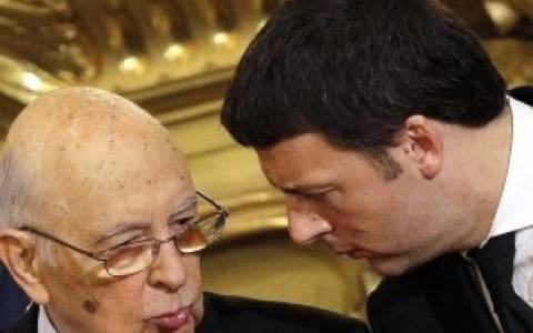 Ρέντσι: «Ελάτε να αποχαιρετίσουμε τον Ναπολιτάνο»