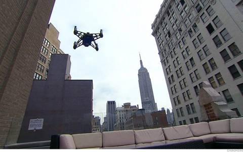 CNN: Βγαίνει μπροστά στη μάχη της ενημέρωσης με τη χρήση drones