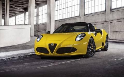 Alfa Romeo 4C Spider: Ανοιχτή πρόκληση