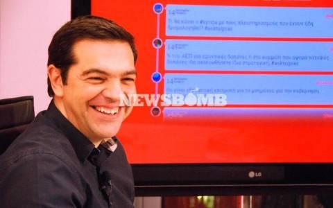 Έσπασε τα κοντέρ στο twitter ο Τσίπρας - 3ο θέμα παγκοσμίως!