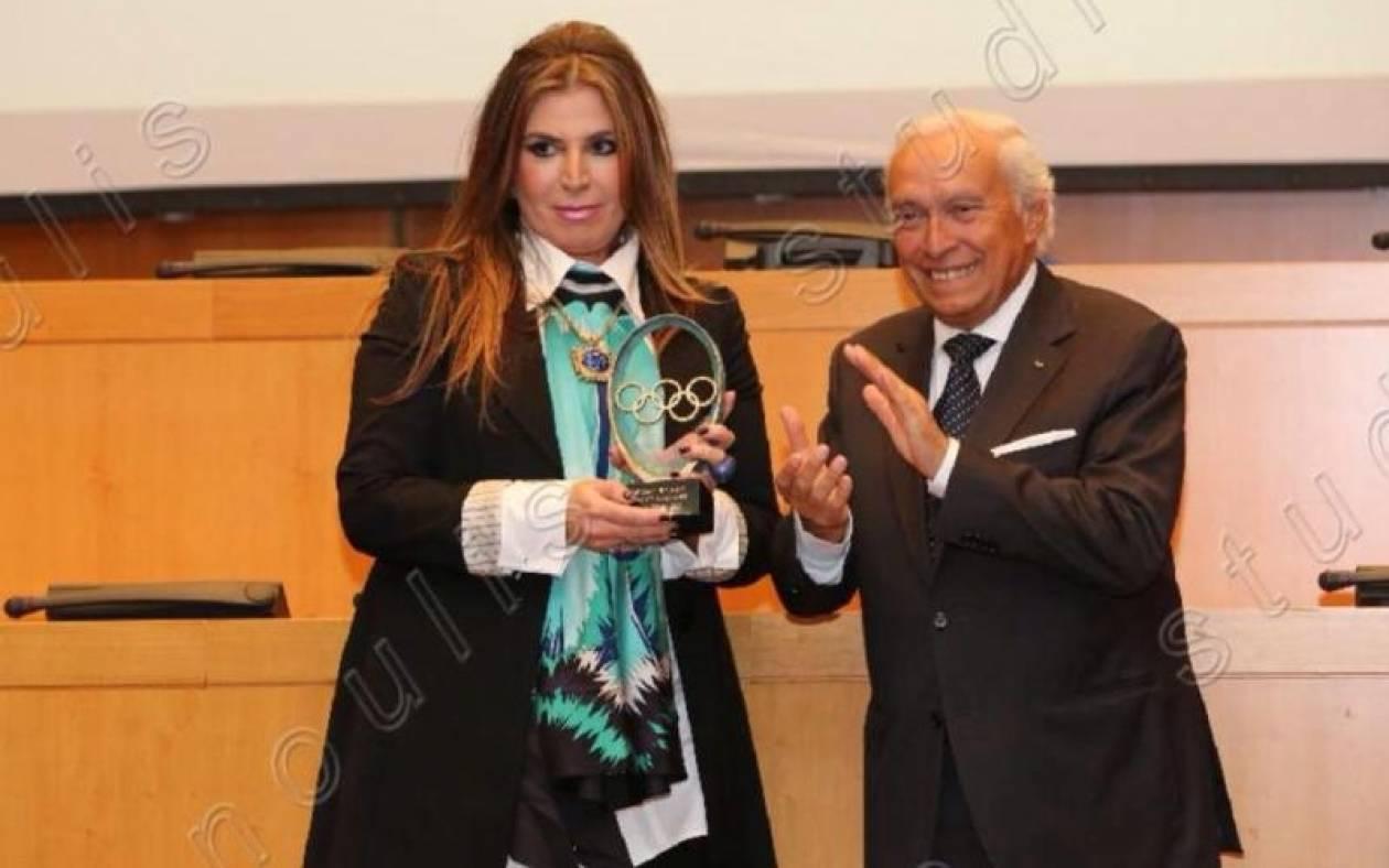 Υπέρτατη αναγνώριση για την Μίνα Παπαθεοδώρου - Βαλυράκη η βράβευσή της από τη ΔΟΕ