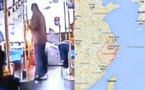 Κίνα: Πέταξε... χειροβομβίδα στον οδηγό επειδή δεν σταμάτησε στη στάση!