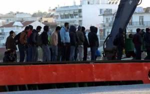 Εντοπισμός και σύλληψη 22 παράνομων μεταναστών στη Λέσβο