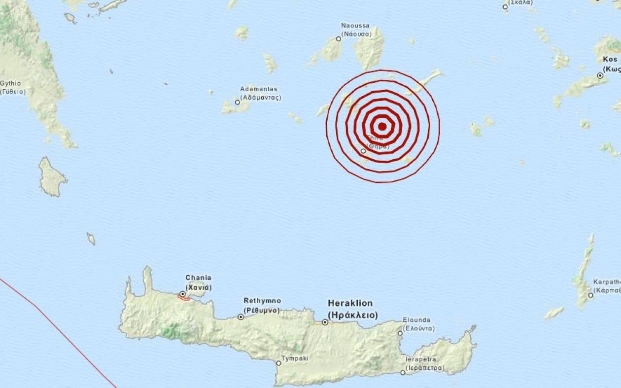 Σεισμός 3,2 Ρίχτερ στις Κυκλάδες