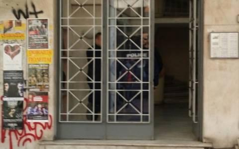 Επίθεση με γκαζάκια στο πολιτικό γραφείο του Άδωνι Γεωργιάδη (pics)