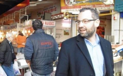 Στη λαχαναγορά ο υποψήφιος βουλευτής Α' Πειραιά Γιώργος Χρηστοφορίδης (pics)