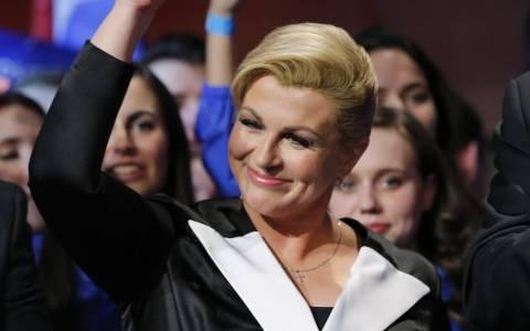 Η πρόεδρος της Κροατίας ξεσηκώνει «τριλογία» αντιδράσεων