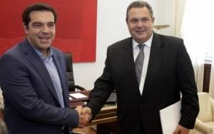 Εκλογές 2015 - Καμμένος: Με τον ΣΥΡΙΖΑ μας ενώνει το εθνικό συμφέρον