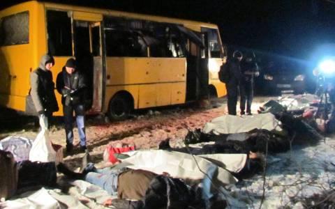 Ουκρανία: Ημέρα εθνικού πένθους για τα θύματα του λεωφορείου