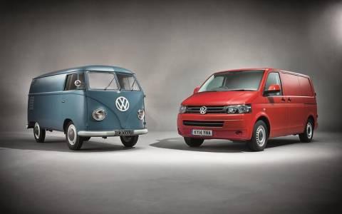 Volkswagen : Παραδόθηκαν 445.000 Επαγγελματικά Οχήματα το 2014