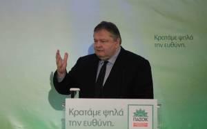 Венизелос: мы будем поддерживать даже правительство СИРИЗА