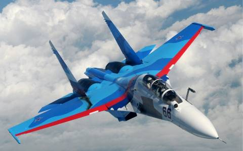Μαχητικά αεροσκάφη Sukhoi Su-30 για τον στόλο της Μαύρης Θάλασσας