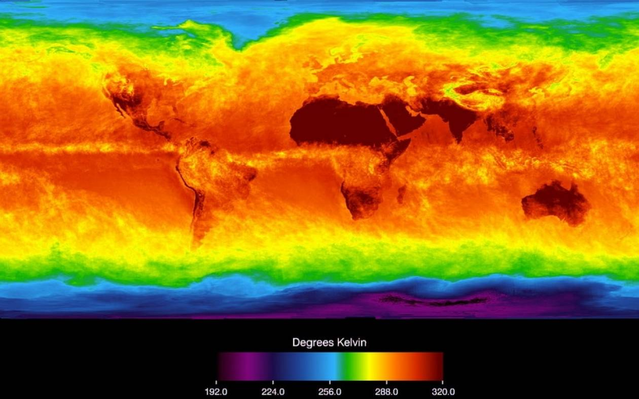 NOAA και NASA συμφωνούν: Το 2014 ήταν η θερμότερη χρονιά
