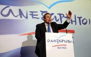 Εκλογές - Καμμένος: Πάνω από 8 μονάδες η διαφορά ΝΔ - ΣΥΡΙΖΑ (vid)
