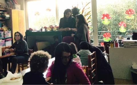 Δίπλα σε παιδιά με ειδικές ανάγκες η Γ. Σαμαρά