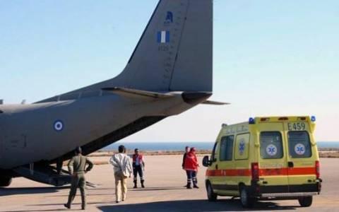 Αεροδιακομιδή 17χρονου από την Κέρκυρα στην Αθήνα