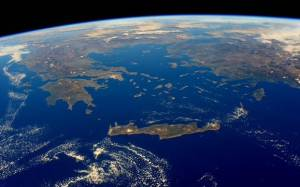 H Ελλάδα από το διάστημα - Δείτε φωτογραφίες της NASA