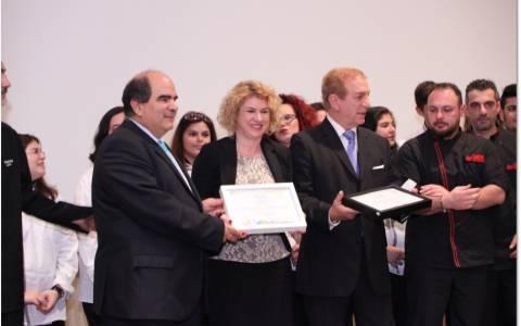 Ι.ΙΕΚ Ξυνή: Βράβευση από την Unesco