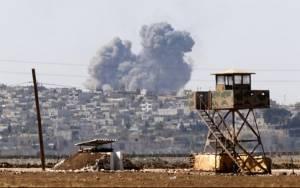 Συρία: 13 νεκροί από βομβαρδισμούς στη Χομς