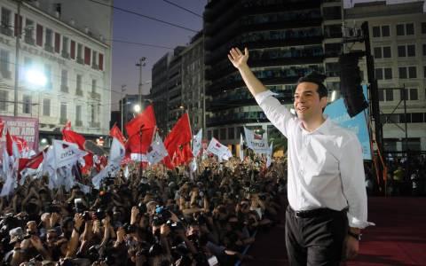Εκλογές 2015: LIVE η ομιλία του Αλ. Τσίπρα στην Ομόνοια
