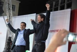 Εκλογές 2015: ΣΥΡΙΖΑ - PODEMOS - VENCEREMOS