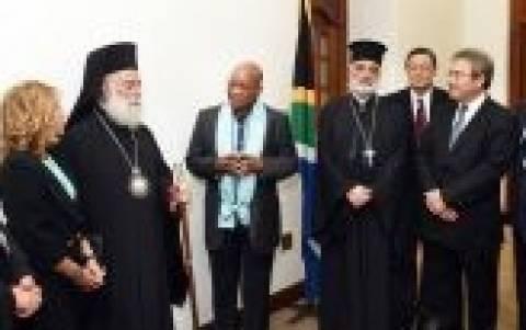 Ν. Αφρική: Θερμή υποδοχή στον πατριάρχη Αλεξανδρείας και πάσης Αφρικής, Θεόδωρο