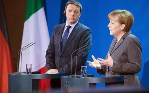 Εκλογές: Συνάντηση Ρέντσι-Μέρκελ για την επόμενη ημέρα στην Ελλάδα