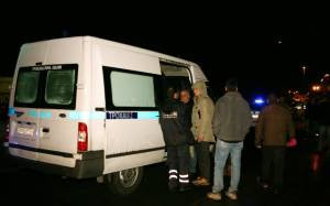 Ανατροπή βυτιοφόρου στην περιφερειακή Θεσσαλονίκης