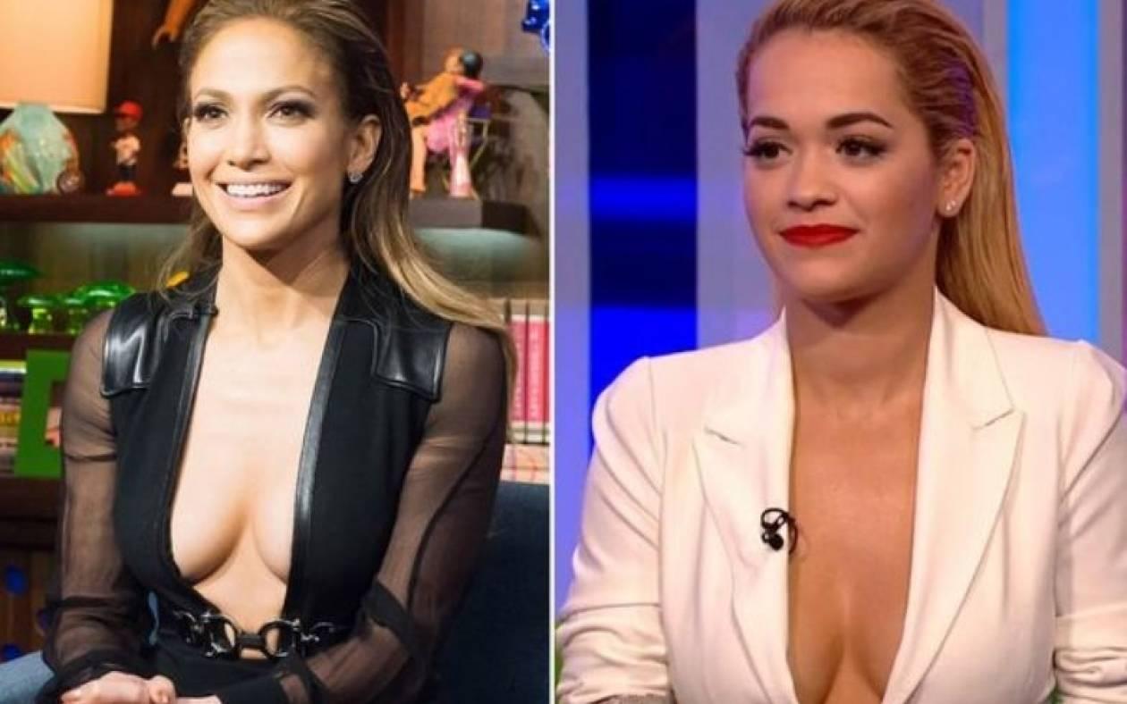 Lopez - Ora: Τηλεοπτική μάχη στήθος με στήθος (video)