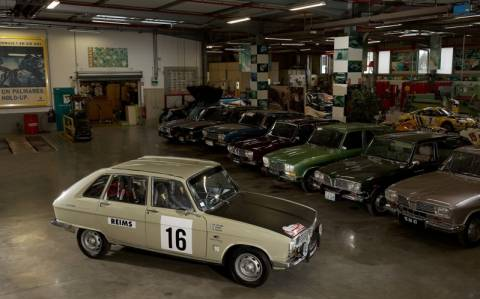 Κλασσικά Αυτοκίνητα: Η ομάδα της Renault Classic στο Monte-Carlo Historique