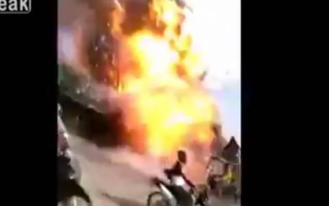 Φιλιππίνες: Ισχυρή έκρηξη με δύο νεκρούς (video)