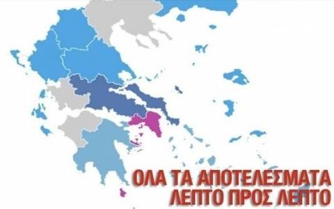 Αποτελέσματα εκλογών 2015 Αττική LIVE