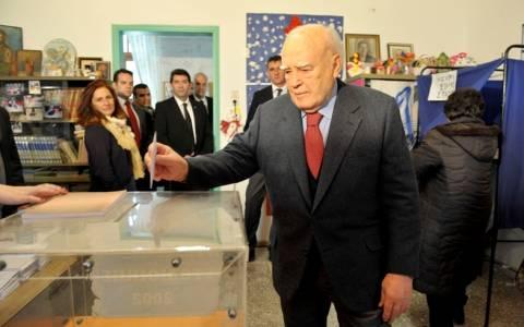 Εκλογές 2015: Παπούλιας: «Έρχονται χρόνια δύσκολα...» (pics-vid)