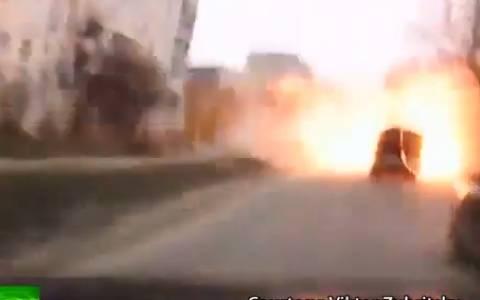 Ουκρανία: Βίντεο ντοκουμέντο από τον βομβαρδισμό