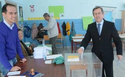 Εκλογές 2015: Η φωτογραφία που ανέβασε ο Ν. Νικολόπουλος στο Twitter
