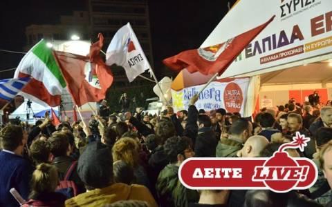 LIVE STREAMING: Το Newsbomb.gr στο εκλογικό κέντρο του ΣΥΡΙΖΑ