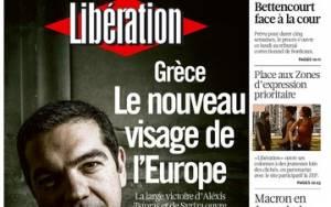 Αποτελέσματα εκλογών 2015: Liberation - Το νέο πρόσωπο της Ευρώπης