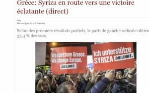 Αποτελέσματα εκλογών 2015 - Βέλγιο: Ιστορική νίκη ΣΥΡΙΖΑ κατά της λιτότητας