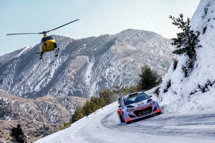 Μια καταπληκτική μάχη,  η οποία έληξε υπέρ του Thierry Neuville, έδωσαν οι δύο οδηγοί της Hyundai