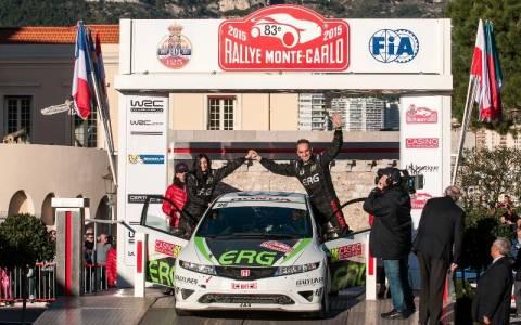 WRC Ράλλυ Μόντε Κάρλο: Τερματισμός για τον Δ. Δριβάκο
