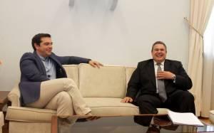 Αποτελέσματα εκλογών 2015 – Τηλεφωνική επικοινωνία Τσίπρα - Καμμένου