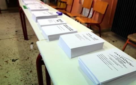 Εκλογές 2015- Στο 36,13% έφτασε η αποχή